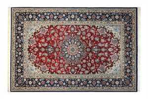 esfahan fondo seta extra fine , 222 x 146