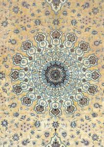 esfahan-extra-fine-fondo-seta-tram-ordito-in-seta-esempelare-raro - irana tappeti 3