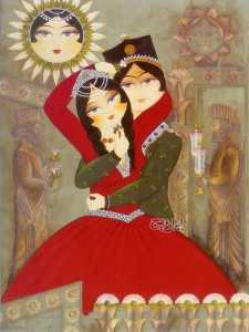 san valentino - persiano - irana tappeti persiani